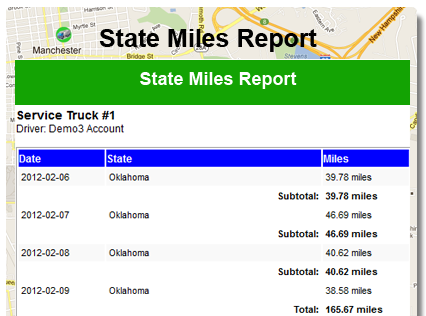 Keep State Miles automatically